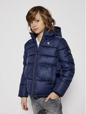 Calvin Klein Jeans Calvin Klein Jeans Pūkinė striukė Essentail IB0IB00557 Tamsiai mėlyna Regular Fit