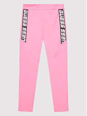 Guess Guess Legíny J1BB10 MC03W Růžová Skinny Fit