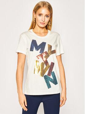 My Twin My Twin T-Shirt 201MT2290 Biały Regular Fit