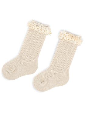 Mayoral Mayoral Vysoké dětské ponožky 10636 Béžová