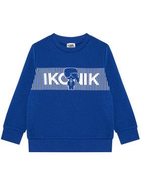 KARL LAGERFELD KARL LAGERFELD Sweatshirt Z25290 D Bleu Regular Fit
