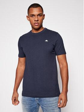 Kappa Kappa T-Shirt Hauke 308010 Granatowy Regular Fit
