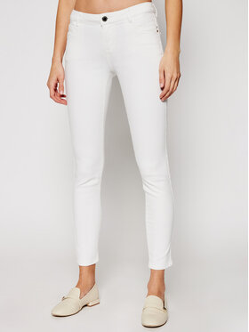 Morgan Morgan Skinny Fit džínsy 211-PETRA1 Biela Skinny Fit