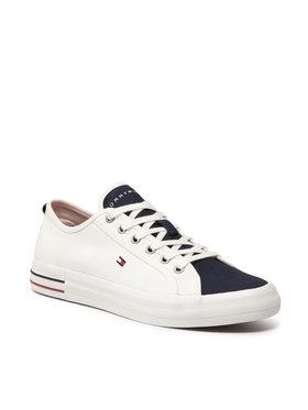 Tommy Hilfiger Tommy Hilfiger Tenisówki Liability Vulc Sneaker FM0FM03620 Biały