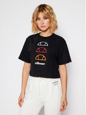 Ellesse Ellesse T-Shirt Deway SGG09814 Černá Regular Fit