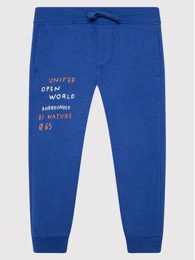 United Colors Of Benetton United Colors Of Benetton Spodnie dresowe 3EB5I0491 Niebieski Regular Fit
