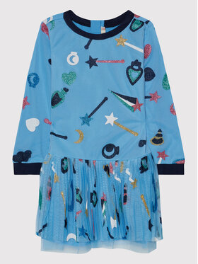 Billieblush Billieblush Елегантна рокля U12683 Син Regular Fit