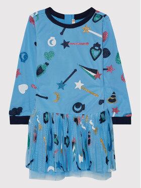 Billieblush Billieblush Rochie elegantă U12683 Albastru Regular Fit