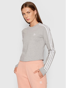 adidas adidas Блуза adicolor Classics H33570 Сив Standard Fit