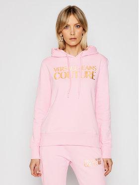 Versace Jeans Couture Versace Jeans Couture Суитшърт B6HWA7TP Розов Regular Fit