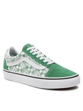 Vans Vans Πάνινα παπούτσια Old Skool VN0A3WKT4QC1 Πράσινο