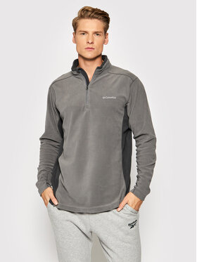Columbia Columbia Fliso džemperis Klamath Range 1352472024 Pilka Regular Fit