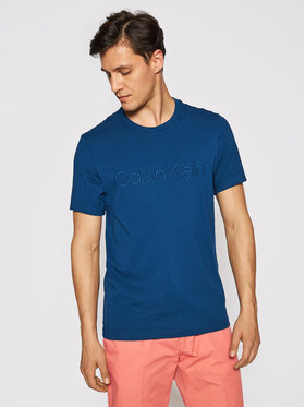Calvin Klein Underwear Calvin Klein Underwear T-Shirt 000NM2126E Granatowy Regular Fit