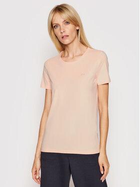 Lacoste Lacoste Marškinėliai TF0998 Oranžinė Regular Fit