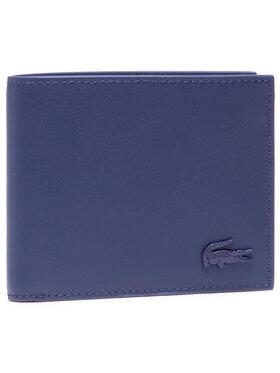 Lacoste Lacoste Portafoglio grande da uomo S Billfold NH3456DD Blu scuro