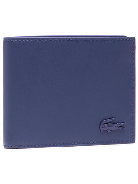 Lacoste Lacoste Portefeuille homme grand format S Billfold NH3456DD Bleu marine