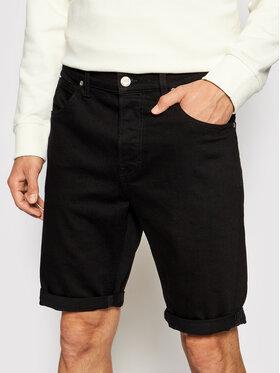 Lee Lee Short en jean 5 Pocket L73EHFAE Noir Regular Fit