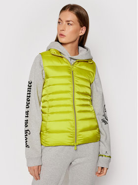 Save The Duck Save The Duck Gilet D88490W IRIS13 Giallo Regular Fit