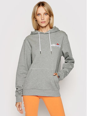 Ellesse Ellesse Суитшърт Noreo Oh Hoody SGS08848 Сив Relaxed Fit