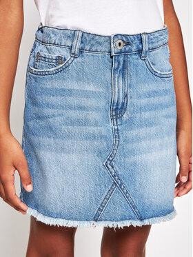 Pepe Jeans Pepe Jeans Szoknya Kourtney PG900516 Kék Regular Fit
