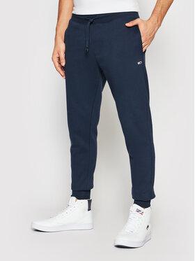 Tommy Jeans Tommy Jeans Spodnie dresowe DM0DM11163 Granatowy Slim Fit