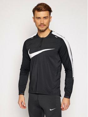 Nike Nike Тениска от техническо трико Element Wild Run CK0679 Черен Standard Fit