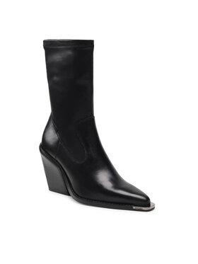 Bronx Bronx Členková obuv 34195-A Čierna