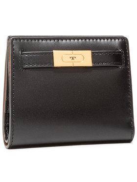 Tory Burch Tory Burch Mały Portfel Damski Lee Radziwill Mini Wallet 73584 Czarny