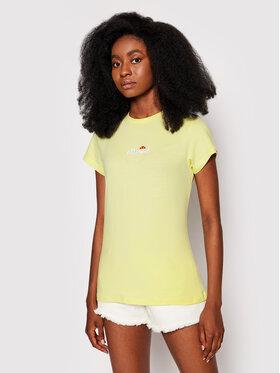 Ellesse Ellesse Marškinėliai Ci Tee SGJ11885603 Geltona Slim Fit