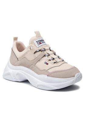 Tommy Jeans Tommy Jeans Sneakers Lightweight Shoe EN0EN01436 Bej