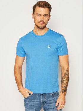 Calvin Klein Jeans Calvin Klein Jeans Marškinėliai Essential J30J314544 Mėlyna Slim Fit