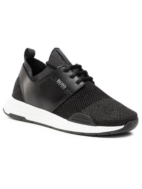 Boss Boss Sneakersy Titanium 50447460 10233175 01 Czarny