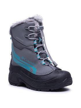 Columbia Columbia Čizme za snijeg Youth Bugaboot Plus IV Omni-Heat BY5954 Siva
