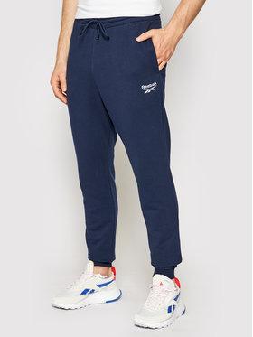Reebok Reebok Spodnie dresowe Identity GL3163 Granatowy Regular Fit
