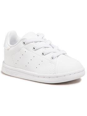 adidas adidas Batai Stan Smith El I FY2676 Balta
