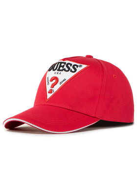 Guess Guess Kepurė su snapeliu M0YZ32 WBN60 Raudona
