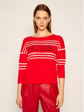 Guess Guess Sweter Alessia W0YR87 Z2BB0 Czerwony Regular Fit