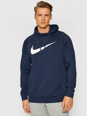 Nike Nike Суитшърт Dri-Fit Swoosh CZ2425 Тъмносин Standard Fit
