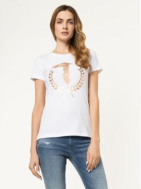 Trussardi Jeans Trussardi Jeans T-shirt 56T00224 Bianco Slim Fit