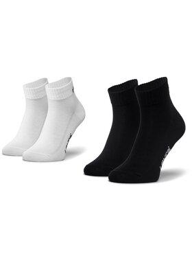 Levi's® Levi's® Súprava 2 párov kotníkových ponožiek unisex 37157-0239 Čierna