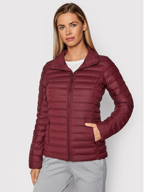 The North Face The North Face Kurtka puchowa W Stretch Down Jkt NF0A4P6ID Bordowy Regular Fit