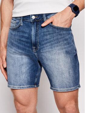 Guess Guess Džínsové šortky M1GD10 D4B71 Tmavomodrá Regular Fit