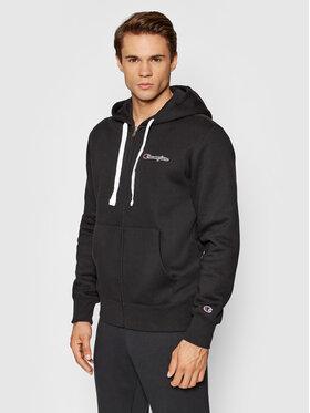 Champion Champion Sweatshirt Blend Small Script Logo Zip-Up 216477 Noir Custom Fit