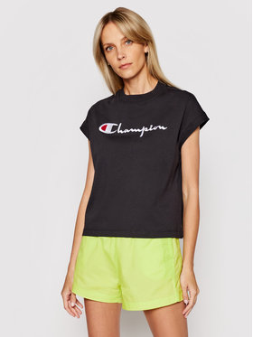 Champion Champion Bluse 112736 Schwarz Relaxed Fit