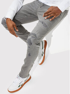 American Eagle American Eagle Jeansy 011-0119-4509 Szary Skinny Fit