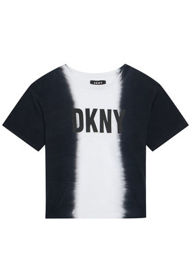 DKNY DKNY Póló D35R31 S Fekete Regular Fit