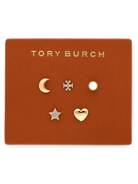 Tory Burch Tory Burch Náušnice Celestial Stud Set 78952 Zlatá