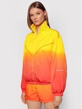 Calvin Klein Jeans Calvin Klein Jeans Prechodná bunda Dip Dye J20J216257 Žltá Regular Fit