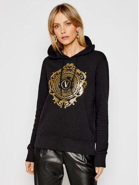 Versace Jeans Couture Versace Jeans Couture Majica dugih rukava B6HWA7FC Crna Regular Fit