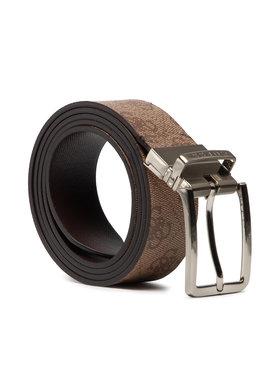 Guess Guess Мъжки колан Not Coordinated Belts BM7383 VIN35 Кафяв
